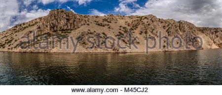 Zrmanja is a river in northern Dalmatia, Croatia - Stock Photo