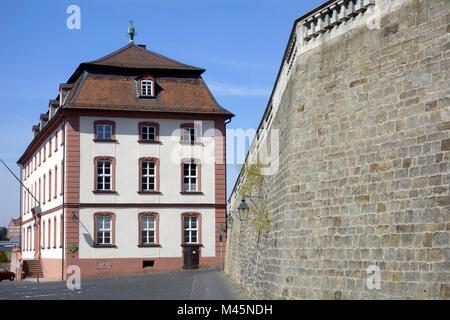 Theologische Fakultät und Michaeliskirche in Fulda - Stock Photo