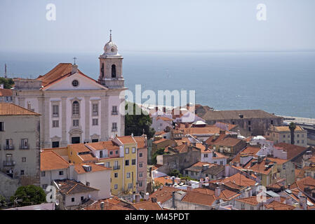 Bairro Alto, Lisbon, Portugal - Stock Photo