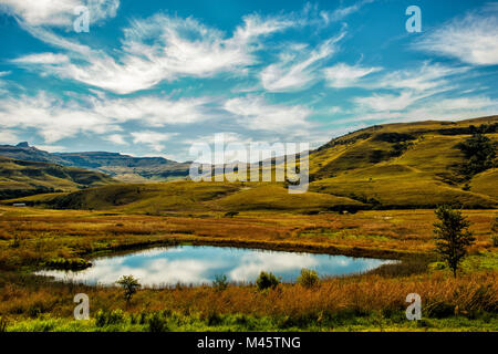 Drakensberg South Africa - Stock Photo