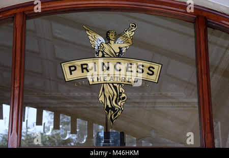 Princess Theatre in Melbourne - Stock Photo