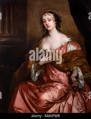Elizabeth Hamilton, Countess of Gramont (1640-1708), a noted beauty in the Restoration period and one of the 'Windsor - Stock Photo