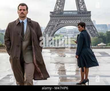 Mission: Impossible – Fallout is an upcoming American action spy film written, directed and co-produced by Christopher - Stock Photo