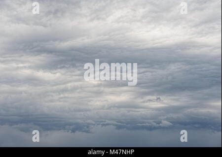 heavy overcast clouds - Stock Photo