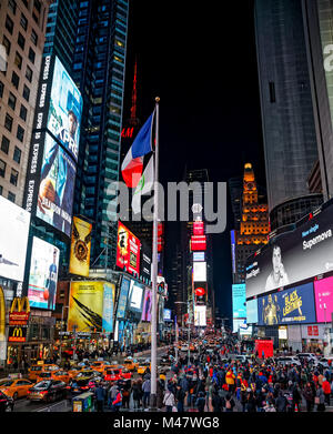 New York Times Square - Stock Photo