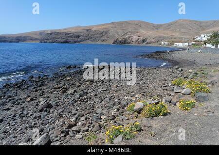 Playa Quemada, Lanzarote - Stock Photo