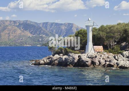Entering the bay of Marmaris - Stock Photo