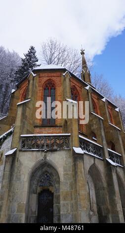 Kiefersfelden South of Bavaria Germany,  near to Austria Tyrol, church King Otto chapel - Stock Photo