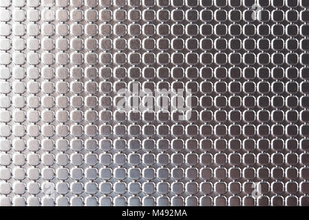 Silver texture background close up. Macro of design on metal surface - Stock Photo