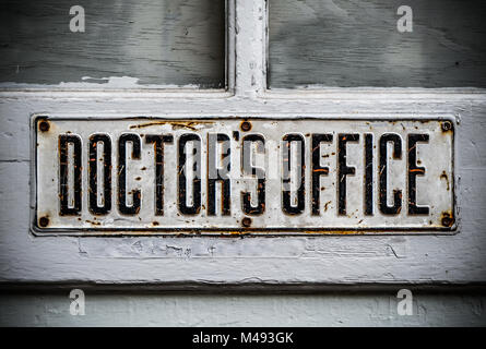 Doctors Office Sign - Stock Photo