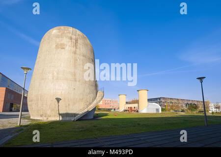 Trudelturm, Aerodynamic Park, Berlin-Adlershof, Germany - Stock Photo