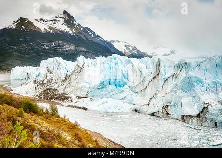 Perito Moreno Glacier, one of Argentina travel top destinations. - Stock Photo