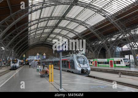 Presentation of new Trains for S-Bahn Mitteldeutschland - Stock Photo