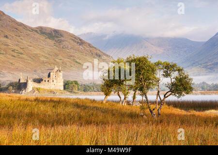 Kilchurn Castle, Loch Awe, Argyll and Bute, Scotland, UK. - Stock Photo