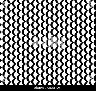 vertical waves seamless vector pattern - Stock Photo