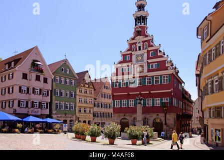 Esslingen, Altes Rathaus, Baden-Württemberg, Deutschland - Stock Photo