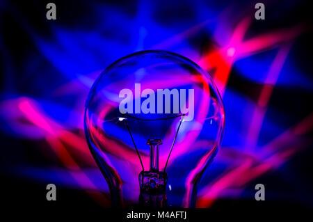 Light Bulb Abstract - Stock Photo