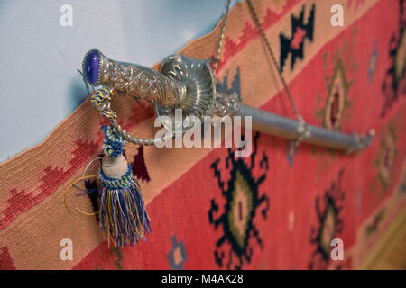 Viking sword medieval Azerbaijan cold steel blade . Ancient Azerbaijan military sword . Clipping path is included - Stock Photo