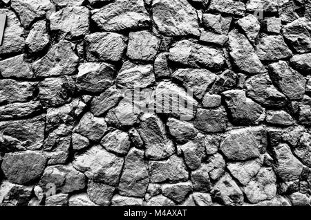 The image of the wall, background. Image includes a effect the black and white tones. - Stock Photo