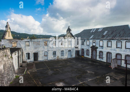 Fort George,St Georges capital of Grenada,Caribbean - Stock Photo