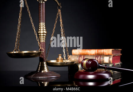 Law and justice concept. Law and justice symbols composition. Legal office. - Stock Photo
