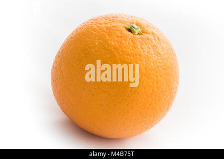 Clementines Isolated on White - Stock Photo