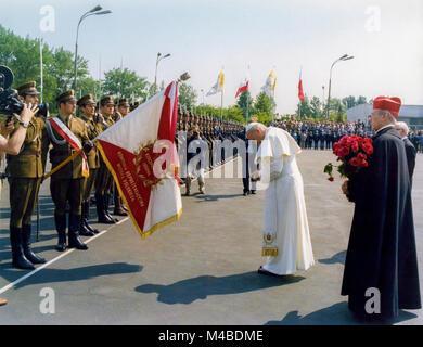 Pope  John Paul II Poland Travel - 2/10 June 1979 - Stock Photo