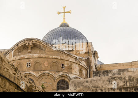 Church of the Holy Sepulchre, Jerusalem, Israel - Stock Photo