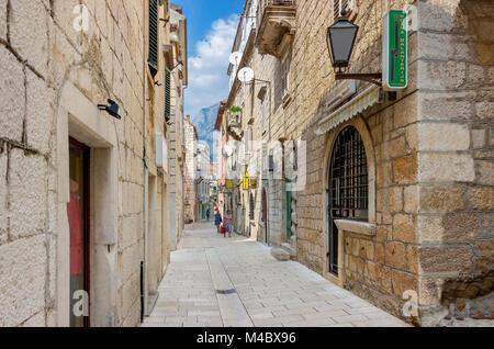 Makarska, Dalmatia, Croatia, Europe - Stock Photo