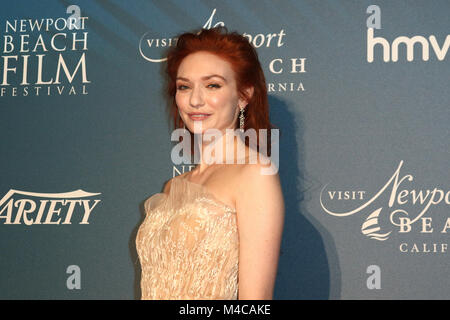 London, UK. 15th February, 2018. Eleanor Tomlinson, Newport Beach Film Festival - Annual UK Honours Event, The Rosewood - Stock Photo