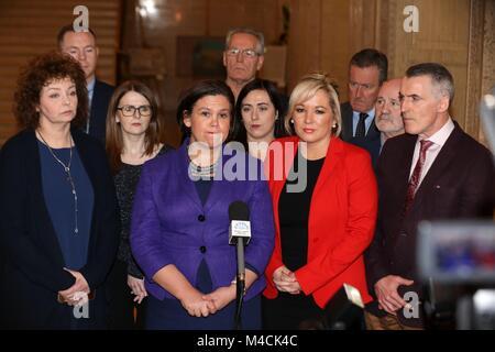 Northern Ireland Talks Failure Fallout - Stock Photo