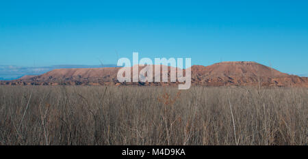 Landscape in Lake Mead National Recreation Area, USA - Stock Photo