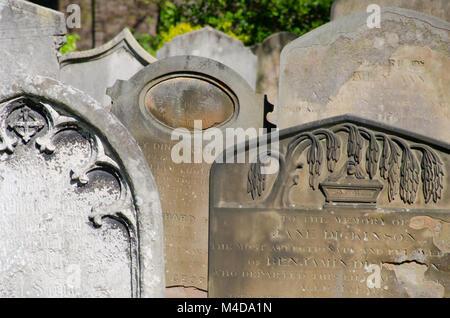 Brompton Cemetery detail - Stock Photo