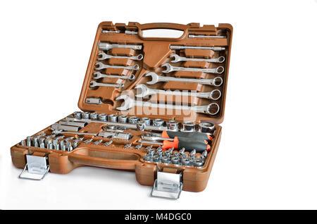 Mechanic's tools set - Stock Photo