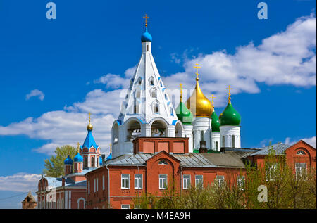 Churches in Kolomna Kremlin - Moscow region - Russia - Stock Photo