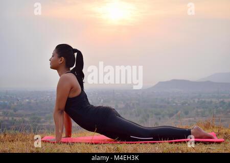 sun salutation steps surya namaskar mountain pose young