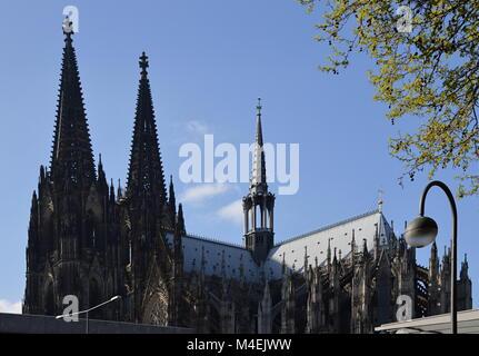 Cologne, North Rhine - Westphalia, Germany. - Stock Photo