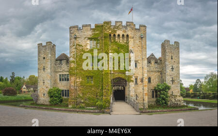 Hever Castle in Kent - Stock Photo