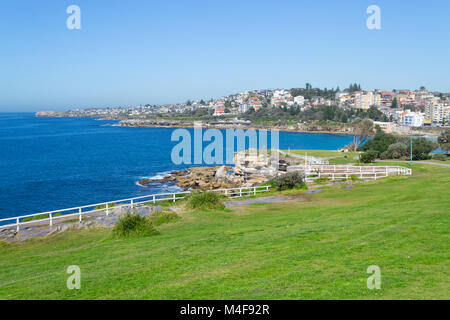 Coogee beach in Sydney - Stock Photo