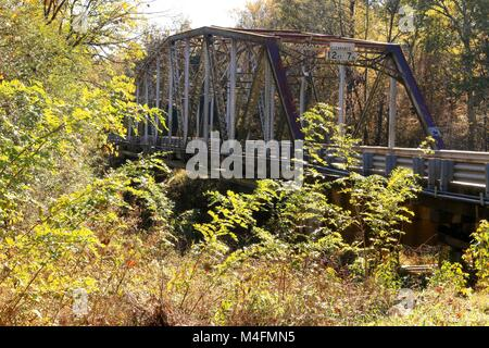 South Carolina bridge,Mt.Carmel SC, vintage bridge, ,rusty bridge, country road, back road,bridge landscape,background,Little - Stock Photo
