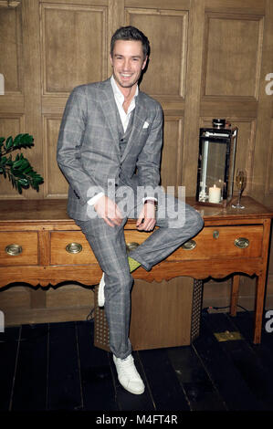 Berlin, Germany. 15th Feb, 2018. Simon Lohmeyer attending the 'BVLGARI #RVLEyournight' party during the 68th Berlin - Stock Photo
