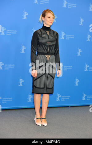 Berlin, Germany. 16th Feb, 2018. 68th Berlin International Film Festival. Festival Internazionale del Cinema di - Stock Photo