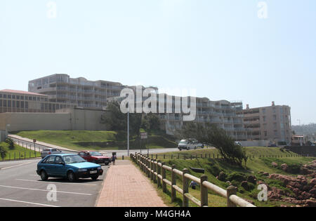 Beachfront Apartments, Margate, South Coast, Kwazulu Natal, South Africa - Stock Photo