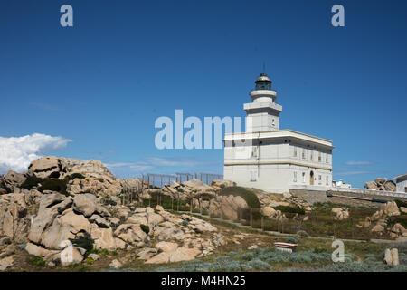 Lighttower at Capo Testa - Stock Photo