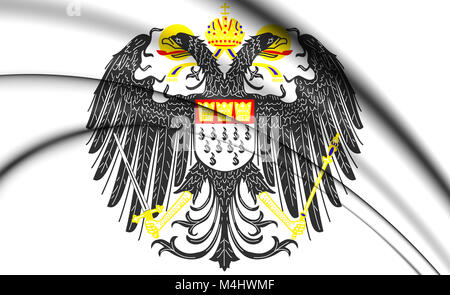 Cologne coat of arms, Germany. 3D Illustration. - Stock Photo