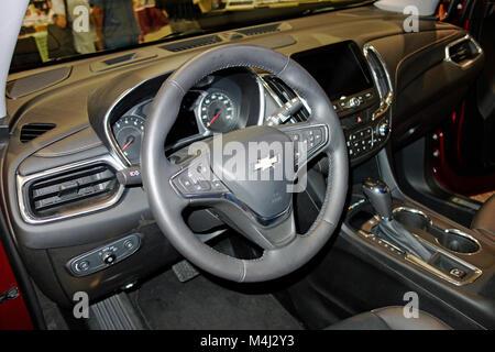 2018 Chevy GM Chevrolet Equinox SUV - Stock Photo