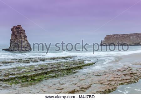 Pacific Ocean Twilight. - Stock Photo