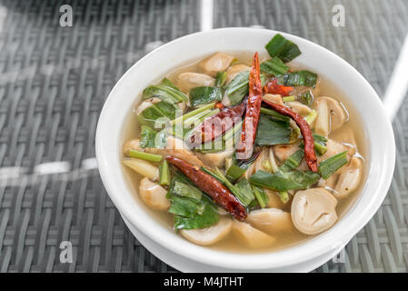 tom yum soup - Stock Photo