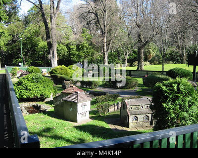 Fitzroy Gardens in Melbourne, Australia - Stock Photo