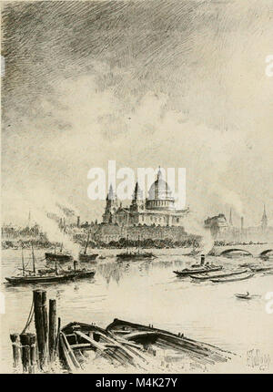 Around the clock in Europe; a travel-sequence (1912) (14777445584) - Stock Photo
